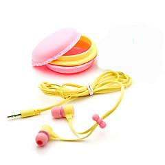 billiga Hörlurar med öronsnäckor-I öra Kabel Hörlurar Plast Mobiltelefon Hörlur mikrofon / Ljudisolerande headset