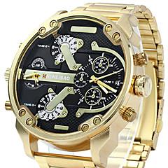 Herrn Herren Armbanduhr Armband-Uhr Einzigartige kreative Uhr Sportuhr Militäruhr Kleideruhr Japanischer Quartz Wasserdicht Punk Großes