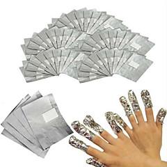 billige Negleklistremerker-100stk Nail Art Tool Nail Art Kit Bomullspute Neglekunst Manikyr pedikyr Vanlig / كلاسيكي / Chic & Moderne Daglig