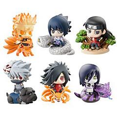 נתוני פעילות אנימה קיבל השראה מ Naruto Hokage PVC 6 CM צעצועי דגם בובת צעצוע