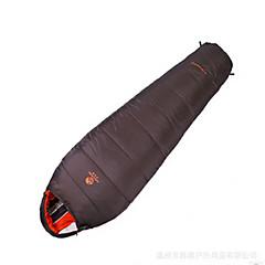 Schlafsack Mumienschlafsack Enten Qualitätsdaune 10°C Gut belüftet Wasserdicht Tragbar Windundurchlässig Regendicht Klappbar Versiegelt