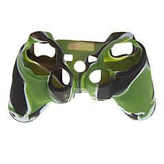 siliconen huid geval voor ps2 ps3 controller camouflage