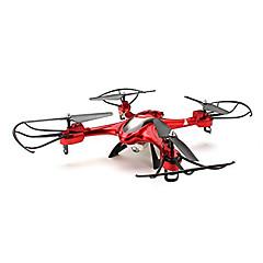 billige Fjernstyrte quadcoptere og multirotorer-RC Drone SJ  R / C X300-2 4 Kanaler 6 Akse 2.4G Uten kamera Fjernstyrt quadkopter En Tast For Retur Hodeløs Modus Flyvning Med 360