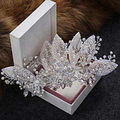 模造真珠合金の毛のクリップの髪の爪のヘッドピースのエレガントなスタイル