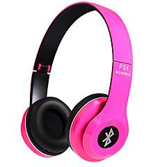 billiga Over-ear-hörlurar-P24 På örat Trådlös Hörlurar Dynamisk Plast Mobiltelefon Hörlur Med volymkontroll / mikrofon / Ljudisolerande headset