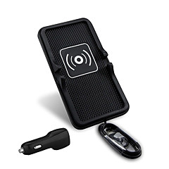 mindzo universele 5V2A auto draadloze oplader voertuig mounts houder Qi-standaard voor qi smartphone
