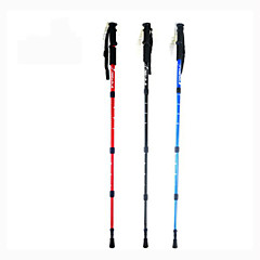 Wanderstöcke/Trekking Stöcke/Multifunktionelle Wanderstöcke/Wanderstock/Trekking Pole Zubehör - Gummi - Aluminiumlegierung 6061