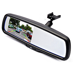 Rearview Mirror 4.3 TFT LCD Car Parking Rearview Mirror Monitor With Special Bracket For VW Audi Ford Toyota Nissan Mazda Hyundai Kia Honda