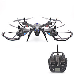 RC Drone YiZHAN Yizhan i8H 4 Kanaler 6 Akse 2.4G Med kamera Fjernstyrt quadkopter LED-belysning En Tast For Retur Tilgang Real-Tid