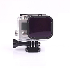 Dive Filter For Action Camera Gopro 5 Gopro 3 Gopro 3+ Gopro 2 Boating Kayaking Wakeboarding Diving & Snorkeling Surfing/SUP