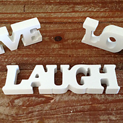 cheap -Wooden letters wedding items furnishing articles Wooden decorative gift love letter Wedding supplies