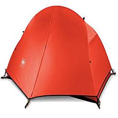 Naturehike 1 person Beskyttelse & Presenning Telt Dobbelt camping Tent Ett Rom Turtelt Velventilert Vanntett Fort Tørring Ultraviolet