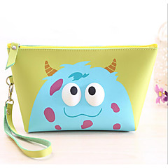 Χαμηλού Κόστους Bags on sale-Γυναικείο PU Επαγγελματική χρήση Νεσεσέρ καλλυντικών Λευκό / Ροζ / Μπλε / Πράσινο / Κίτρινο / Μαύρο