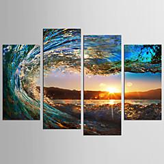 プリント キャンバス地プリント - 風景 静物画 クラシック 近代の 4枚