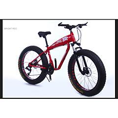 お買い得  自転車-マウンテンバイク サイクリング 21スピード 26 inch/700CC 40ミリメートル 男性 SAIGUAN EF-51 ダブルディスクブレーキ サスペンションフォーク アルミ合金フレーム アルミニウム合金 アルミニウム レッド 白 ブラック ゴールド 銀色