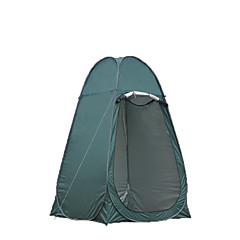 billige Telt og ly-1 person Med enkelt lag Stang Kuppel camping Tent Utendørs Vanntett, Bærbar, Fukt-sikker til Jakt / Strand / Camping 1000-1500 mm Rustfritt Stål, polyester, PU