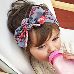 baratos Acessórios para Crianças-Bébé Para Meninas Doce Floral Laço Fibra Sintética / Cetim Acessórios de Cabelo Azul Escuro / Azul / Rosa claro Tamanho Único / Bandanas