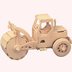 Holzpuzzle Spielzeugautos Spielzeuge Berühmte Gebäude Chinesische Architektur Haus Aushebemaschinen Profi Level Jungen Mädchen 1 Stücke