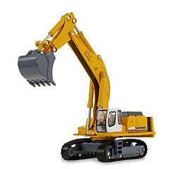 Carros de brinquedo Brinquedos Veiculo de Construção Escavadeiras Brinquedos Maquina de Escavar Metal Clássico e Intemporal Chique e