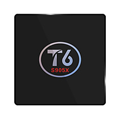 billige TV-bokser-T6 Android 6.0 TV-boks Amlogic S905X 2GB RAM 16GB ROM Dobbeltkjerne