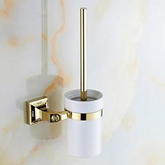 cheap -Toilet Brush Holder Antique Brass 1 pc - Hotel bath