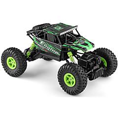 RCカー WL Toys 18428-B 2.4G オフロードカー ハイスピード 4WD ドリフトカー バギー 1:18 ブラシ電気 9 KM / H リモートコントロール 充電式 エレクトリック