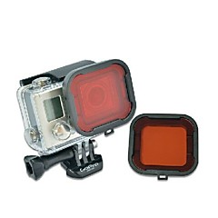 TELESIN Scuba Diving Red Filter for Gopro Hero4 and Hero3 Standard housing