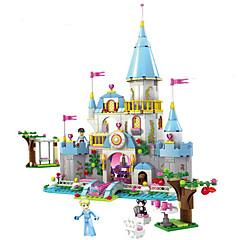 Bausteine Minifiguren aus Blockbausteinen Spielzeuge Burg Prinzessin 669 Stücke