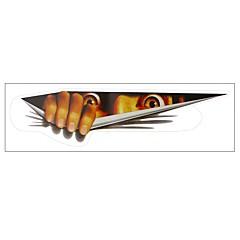 ziqiao etiqueta engraçada do carro 3D olhos espreitando monstro capas de carro etiqueta voyeur tronco suspense janela traseira decalque