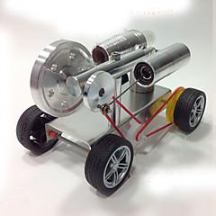 스털링 기계 엔진 모터 모델 디스플레이 모델 교육용 장난감 과학&디스커버리 완구 장난감 자동차 장난감 기계 DIY 조각