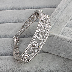 cheap Bracelets-Cuff Bracelet Vintage Rhinestone Others Jewelry Wedding Anniversary Costume Jewelry