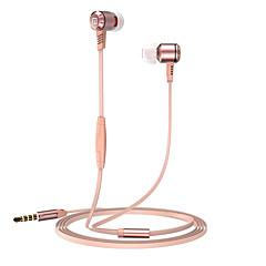 billiga Headsets och hörlurar-langsdom Langsdom M410 I öra Kabel Hörlurar Dynamisk Aluminum Alloy Mobiltelefon Hörlur mikrofon headset