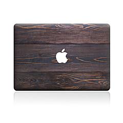 1 stk Motstår Risser Trefiber Gjennomsiktig plast Klistremerke Mønster TilMacBook Pro 15'' med Retina MacBook Pro 15 '' MacBook Pro 13''