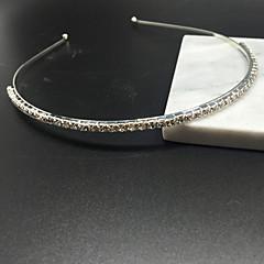 billige Hår Smykker-Dame minimalistisk stil Syntetisk Diamant Hårbånd - Simuleret diamant / Legering / Pandebånd
