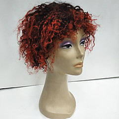 cheap Wigs & Hair Pieces-Human Hair Wig Brazilian Hair Afro Deep Wave Natural Black Wig 130% Density with Baby Hair Ombre Hair Natural Hairline African American Wig 100% Hand Tied Natural Black Women's Short Human Hair Lace
