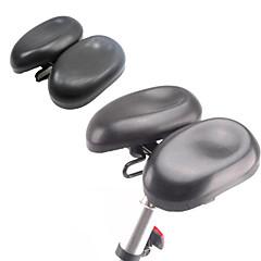 billiga Cykeldelar-Cykelsadel hopfällbar cykel / Mountainbike / Racercykel pvc / PU Ergonomiska / Anti-halk / Bekväm