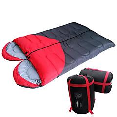 Schlafsack Doppelter Schlafsack warm halten Feuchtigkeitsundurchlässig Wasserdicht Staubdicht Atmungsaktivität Extraleicht(UL) Jagd