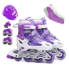 Kinder Mädchen Jungen Inline-Skates Schlittschuhtasche Knieschützer Handgelenkschoner Ellenbogenschoner Helm Belüftung ABEC-7 -