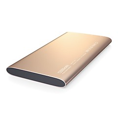 billige Eksterne batterier-Power Bank eksternt batteri 5vv 2.4a #a batterilader multi-output qc 2.0 super slank ledet