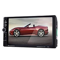 billiga DVD-spelare till bilen-7 tum 2 Din Windows CE In-Dash DVD-spelare för Universell Stöd / MPEG4 / RM / RMVB / DIVX / 3GP