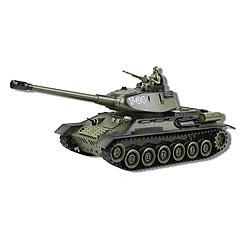 billiga Drönare och radiostyrda enheter-T-34 Tank 01:24 Radiostyrd bil Färdig att köra Fjärrkontroll / Tank / Batteri för bil