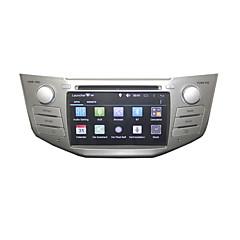billiga DVD-spelare till bilen-autoradio 2 DIN bil dvd-spelare ren android 4.4.2 gps radio för lexus RX300 rx330 RX350 rx400h toyota kärrhök 7inch dual core 3g wifi 1g