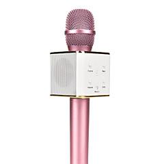 preiswerte Audio & Video für Ihr Zuhause-original q7 magie karaoke mikrofon telefon ktv-player drahtlose kondensator bluetooth iphone android
