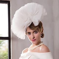 Net Diadema-Nuntă Ocazie specială Exterior Pălărioare Pălării/Căciuli 1 Bucată