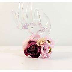 """Flori de Nuntă Rotund Corsaj de mână Nuntă Petrecere / Seară Flori Uscate Metal 8.27""""(Approx.21cm)"""