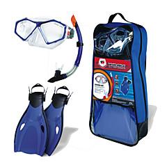 シュノーケル用具セット ダイビング&シュノーケリング ポリ塩化ビニル プラスチック シリコーン