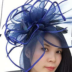 Veer Net Fascinators Net Sluier Helm