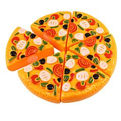 billiga Leksakskök och -mat-Leksaksmat Frukt och grönt Frukt- och grönsaksskärare Plast Unisex Pojkar Flickor Leksaker Present