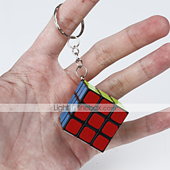 cheap -Magic Cube IQ Cube Smooth Speed Cube Magic Cube Key Chain Puzzle Cube Smooth Sticker Classic Fun Fun & Whimsical Classic Kid's Adults' Toy Unisex Boys' Girls' Gift