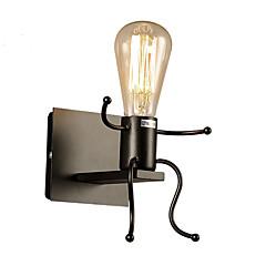 Χαμηλού Κόστους Ξεχωριστές απλίκες-Ρουστίκ / Εξοχικό / Πρωτότυπο / Μοντέρνο / Σύγχρονο Λαμπτήρες τοίχου Μέταλλο Wall Light 110-120 V / 220-240 V 40W